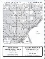 Duluth T50N-R14W, St. Louis County 1987 South